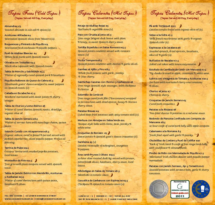 Tapas menu ideas related keywords suggestions tapas for Afghan cuisine sugar land menu